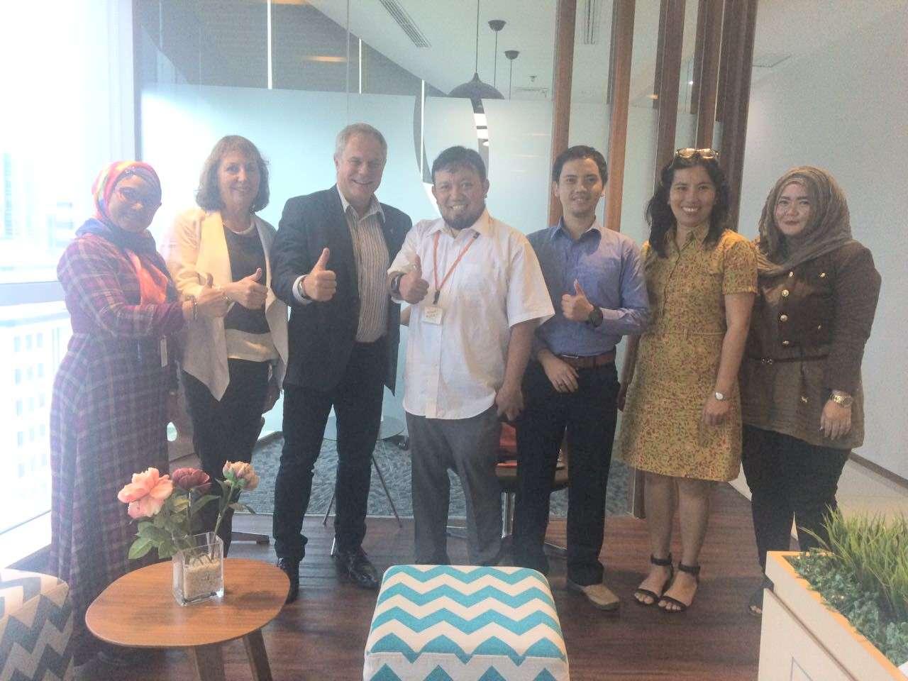 PTA Jajaki Kerjasama dengan CSR Indonesia dalam Program Solar School