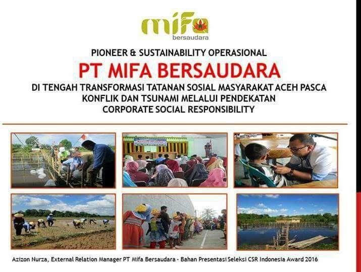Mifa Bersaudara Berinteraksi dengan Kearifan Lokal