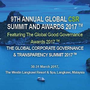 The Global Corporate Governance & Transparency Summit Digelar 30-31 Maret 2017