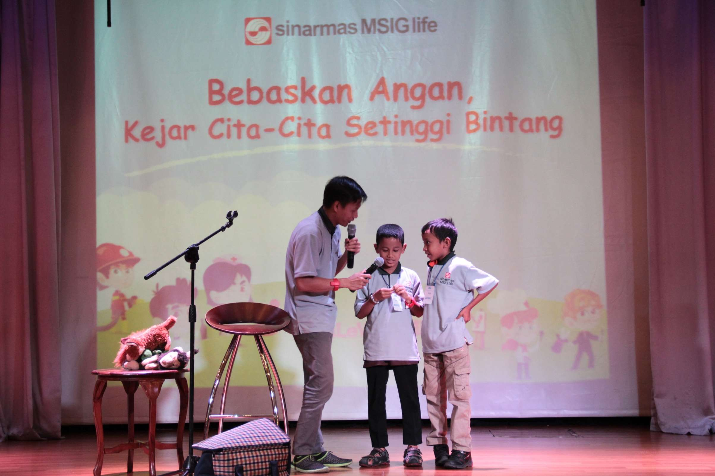 HUT RI 72,Sinarmas MSIG Life Gagas Kegiatan Inspiratif Libatkan Anak-Anak