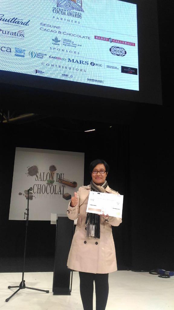 Kakao Jembrana Raih Penghargaan Dunia Cocoa Excellent 2017 di Paris (2)
